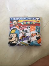 4T Mickey Mouse 3 toddler boys briefs in Okinawa, Japan