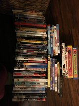 About 50 DVDs and 4 tv show season in Camp Pendleton, California