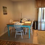 Hand painted Pine table in Temecula, California