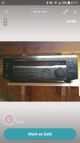 Sony receiver in Naperville, Illinois