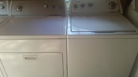 Whirlpool washer and dryer in Fort Rucker, Alabama