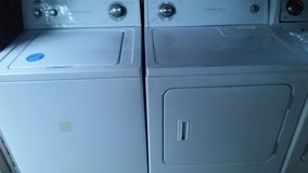 whirlpool heavy duty super capacity washer and dryer set in Fort Rucker, Alabama