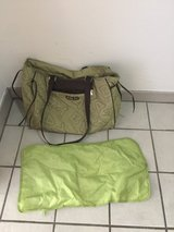 Diaper bag with baby changing mat in Ramstein, Germany