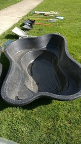 Large pond tub basin for garden in Naperville, Illinois