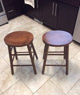 "24"" oval-shaped stools (set of 2) in Yorkville, Illinois"