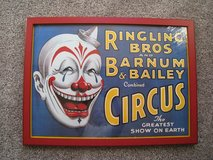 Vintage Ringling Bros And Barnum & Bailey Combined Circus Print. The Greatest Show On Earth in Chicago, Illinois