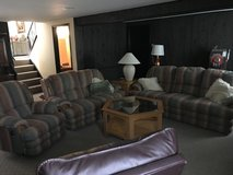 3 piece family room couch set in Lockport, Illinois