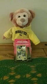 Georgia Tech Luggage Tags and Bear in Perry, Georgia