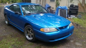 1998 ford mustang 17 inch american eagle rims good tires in Fort Polk, Louisiana