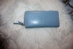 Coach Baby Blue Leather Wallet in Ramstein, Germany