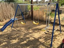 Swingset in Yucca Valley, California