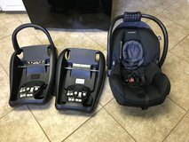 Infant car seat w 2 bases in Columbia, South Carolina