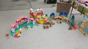 Loads of Little People sets in Camp Pendleton, California