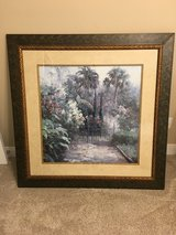 Framed Picture Traditional Palm Garden in Pasadena, Texas