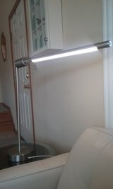 Two LED Brushed Nickel Tube Lights in Sandwich, Illinois