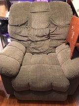 Green fabric Lazy Boy Recliner in Fort Bragg, North Carolina