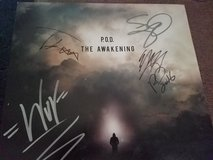 Autographed band pod vinyl in Fort Campbell, Kentucky