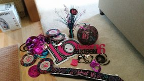Sweet 16 Party Decorations in Naperville, Illinois