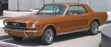 1966 Ford Mustang Coupe 200ic V6 Engine in Clarksville, Tennessee