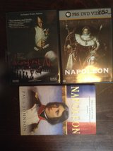 Napoleon DVDs and book in Kingwood, Texas