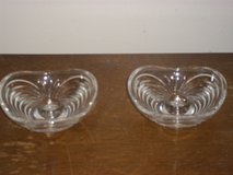 2 Glass Candle Holders in Fort Campbell, Kentucky