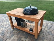 Handmade Weber Grill Table in Naperville, Illinois