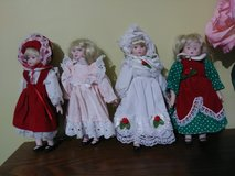 Small Porcelain Dolls in Naperville, Illinois