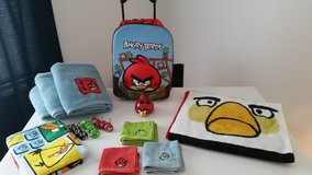 Angry Birds - Bath Set, Backpack, Blanket in Naperville, Illinois