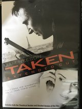 Taken Extended Cut DVD in Cherry Point, North Carolina