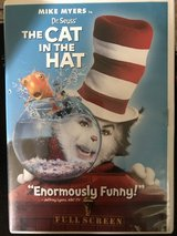 The Cat in The Hat Fullscreen DVD in Cherry Point, North Carolina