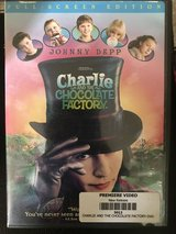 Charlie And The Chocolate Factory Full-screen Edition DVD in Cherry Point, North Carolina