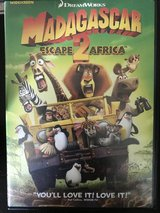 Madagascar 2 Escape To Africa Widescreen DVD in Cherry Point, North Carolina