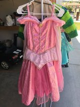 Disney girls dress up sleeping beauty Aurora size L in Vacaville, California