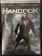 Hancock 1-disc Unrated Edition DVD in Cherry Point, North Carolina