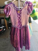 Dress up Tangled Rapunzel Disney size L girls in Vacaville, California
