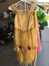 Disney dress up Beauty and the Beast Belle girls size 10 in Vacaville, California