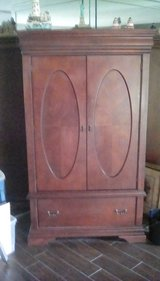 Armoire TV enclosure in Kingwood, Texas