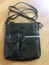 shiny black purse like new in Naperville, Illinois