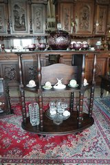 beautiful and rare Art Nouveau shelves - oval shape in Spangdahlem, Germany