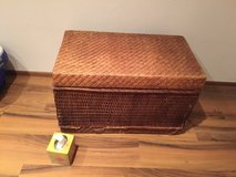 Storage Chest Trunk Brown Wicker - 2 Sizes in Stuttgart, GE