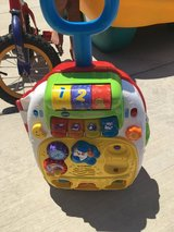 Baby talking luggage toy in Vacaville, California