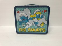 Smurfs Tin Lunch Box in Kingwood, Texas