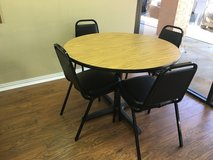 Small conference table and 4 chairs in Kingwood, Texas