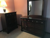 Dresser with mirror  matching chest of drawer in Wilmington, North Carolina