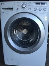 LG Front Load Washer Ultra Large in Naperville, Illinois