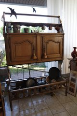 rare antique food storage cabinet .... in Ramstein, Germany