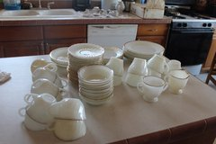 Fire KIng dishes  Box 12 in Alamogordo, New Mexico