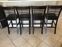 Dark expresso bar stools in Yuma, Arizona