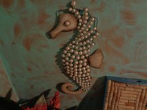 seahorse metal frame with pearl like jewels in Wilmington, North Carolina
