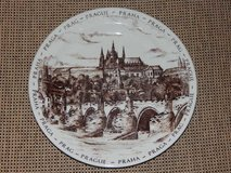 Vintage Prague Collector Plate in Stuttgart, GE